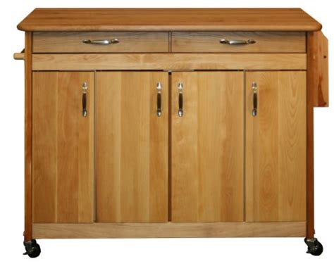 catskill craftsman butcher block island with panel doors catskill craftsmen butcher block island with flat doors