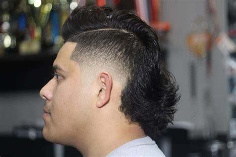 mohawk mullet hairstyles  men  trends