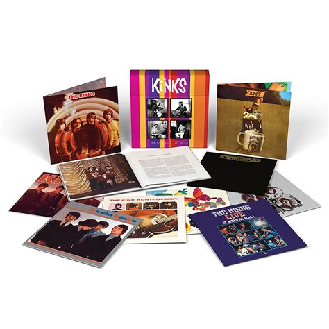 the kinks picture book box set the kinks 8 records being featured in mono box