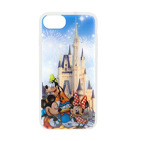Mickey Mouse Q0199 Iphone 7 mickey mouse and friends cinderella castle iphone 7 6