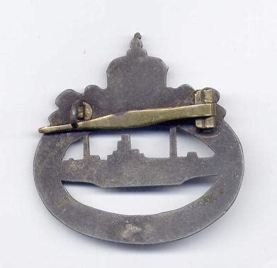 german u boat gold need help gold wwi u boat badge