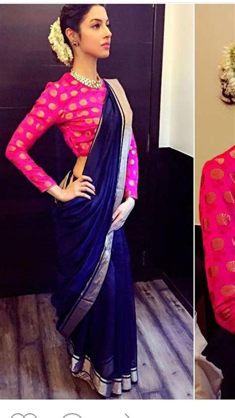 Hindie Blouse Hijao 55k pin by anu on blouses saree blouse designs and saree blouse