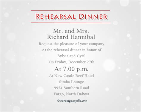 wedding rehearsal dinner invitation wording wedding rehearsal dinner invitation wording sles wordings and messages