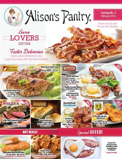 catalog alison s pantry catalog