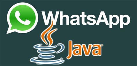 tutorial whatsapp java descargar whatsapp java te ense 241 amos paso a paso