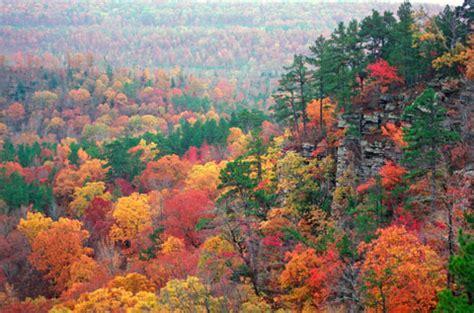arkansas fall colors arkansas geography and history