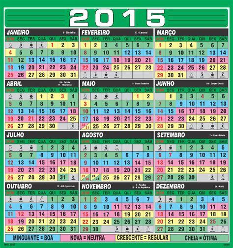 Calendario Da Lua 2015 Bateu Peixe Calend 193 Lunar De Pesca 2015