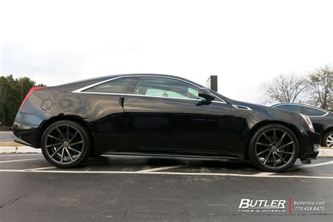 subaru cts v cadillac cts v coupe with 20in vossen cvt wheels
