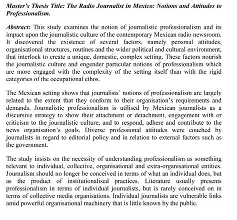 thesis rationale abstract help with writing a dissertation abstract