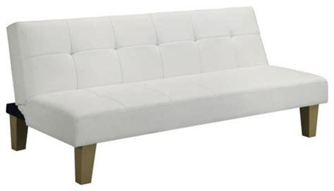 White Futon by Futon Sofa Bed White Modern Futons By Walmart
