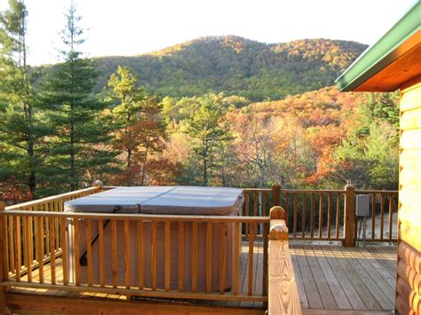 secluded luxury log cabin with homeaway