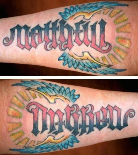 the name matthew tattoos www pixshark com images