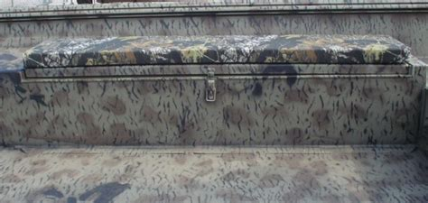 xpress boat seat cushions gun and rod box camo cushion 600 denier