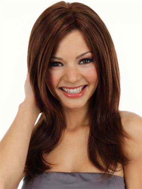 haircuts for round face long hair with layers short haircuts for long faces over 50 hairstylegalleries com