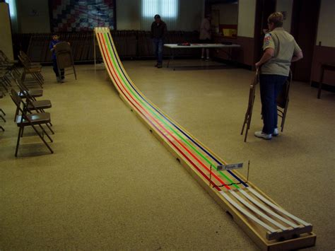 derby track pin pinewood derby track on