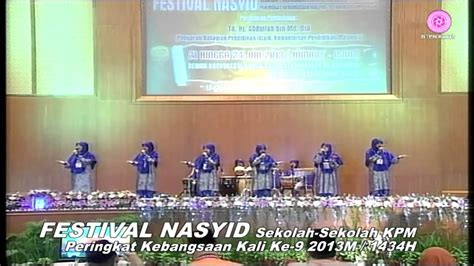 Lk Syarifah versi btp naib johan festival nasyid kpm 2013 melaka