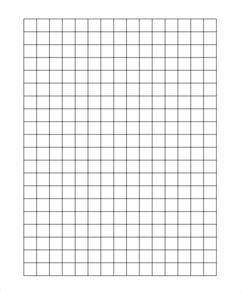 inch graph paper one inch graph paper printable inside 1 4 inch