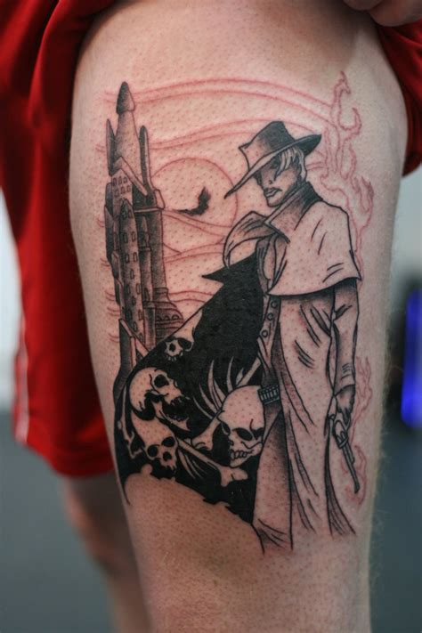 dark tower tattoo roland and the tower wip1 by lucky cat on