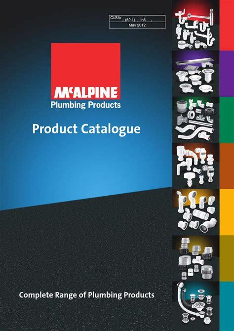 Mcalpine Plumbing Catalogue by Mcalpine Catalogue By Jk Bathrooms Issuu