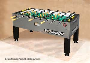 tornado foosball table soccer table t 3000 soccer