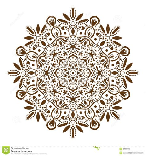 illustrations and meditations or flowers from a puritan s garden classic reprint books mandala decorative ethnic circular ornament stock vector