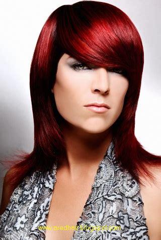 red hair color fashion  red hair shades  women