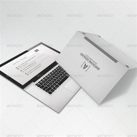 folded business card template mybook pro folded business card template by zeppelin