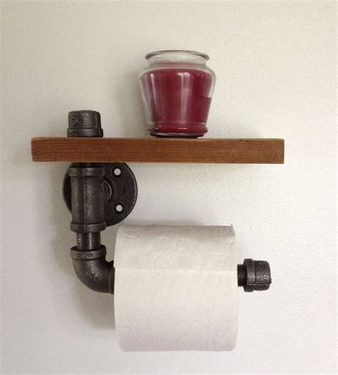 How To Make A Paper Bong - reclaimed wood pipe toilet paper holder toilets