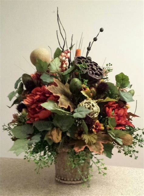 rustic earthy floral arrangement earthy floral