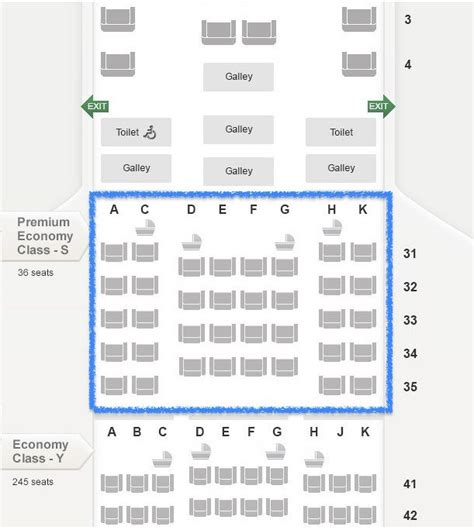 Airbus A380 Floor Plan by