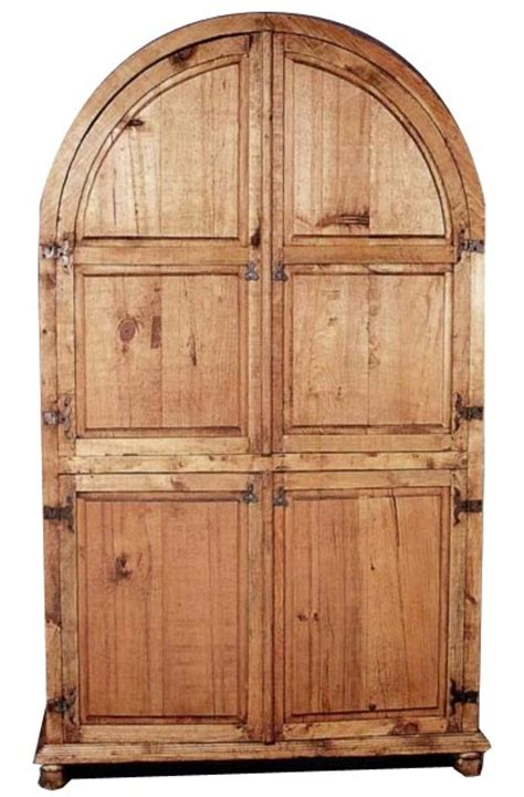 rustic pine armoire rustic pine furniture 617 arched armoire at sutherlands