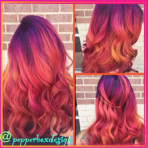 pravana magenta hair color pravana vivids magenta hair purple hair orange hair