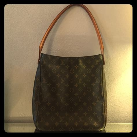 louis vuitton bags single strap monogram bag poshmark