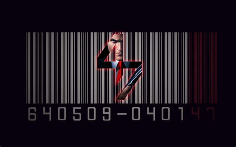 barcode tattoo film hitman agent 47 barcode movie wallpaper hitman