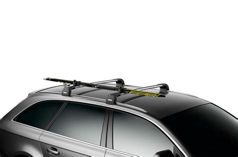 Ski Bag For Roof Rack by Thule Skiclick 7291 Crosscountry Ski Carrier 7291