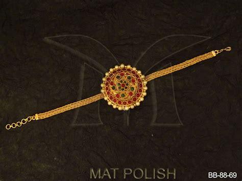 Antique Jewellery Bajuband twisted style kemp bajuband antique jewellery antique bajuband manek ratna manek ratna