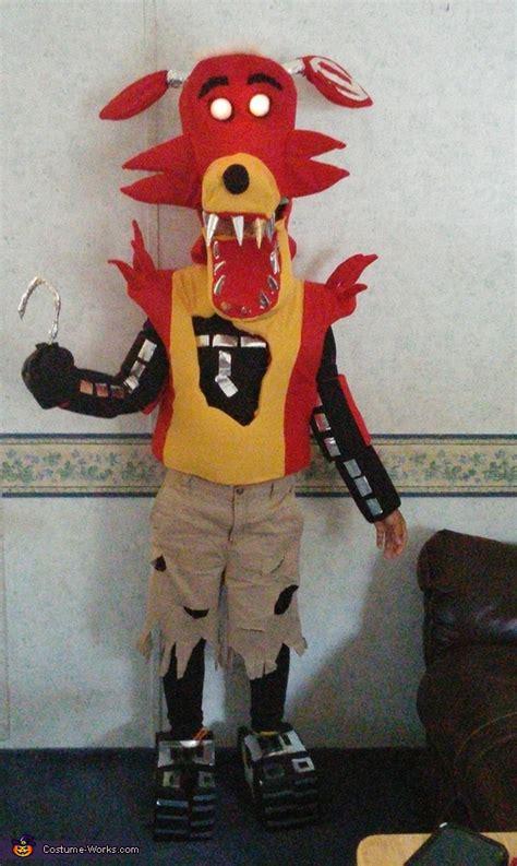 diy foxy costume