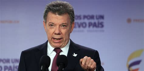 presidente de colombia 2016 video presidente de colombia juan manuel santos gana