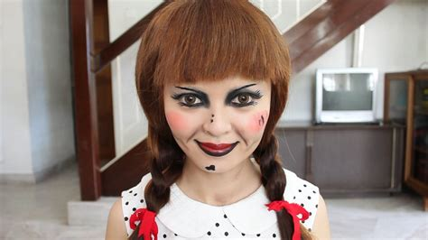 annabelle doll voice lynette makeup makeup and hair tutorial
