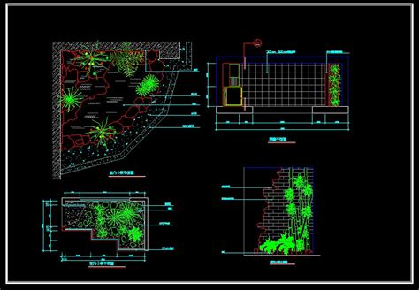 landscape layout cad landscape design free cad blocks drawings download