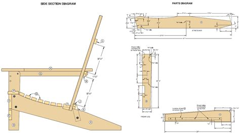 pdf plans adirondack chair plans templates download diy