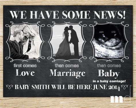 9 Fun And Simple Pregnancy Announcement Ideas Babyprepping Pregnancy Announcement Template For