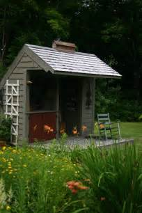 circa home living potting shed backyard