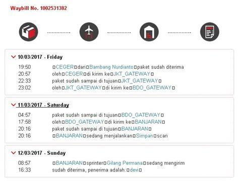 Cek Resi Lengkap | daftar lengkap kode gateway j t express saat cek resi