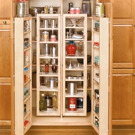 kitchen cabinet kits sale rev a shelf 51 quot swing out pantry kit maple 4wp18 51 kit