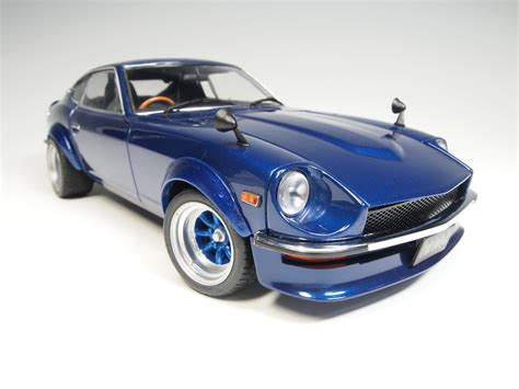 nissan sports car blue 8219 ky8219bl nissan fairlady z s30 metallic blue