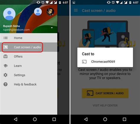 how to chromecast from android how to kodi to chromecast from android or pc beebom