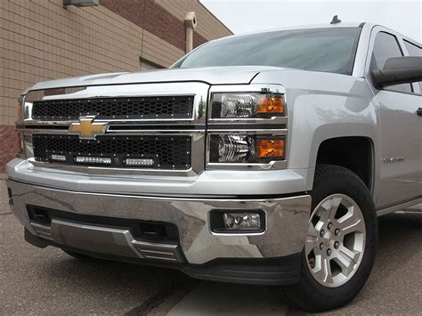 2012 silverado lights rigid industries 2014 2015 silverado 1500 z71 led grille kit