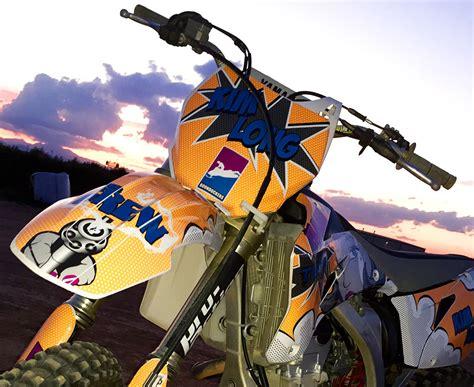 graphics for motocross yamaha yz yzf custom dirt bike graphics image gallery