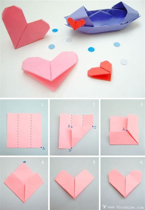 Letter Paper Origami - 25 best ideas about easy origami on diy